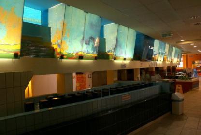 Erzsébetligeti Uszoda - akvárium
